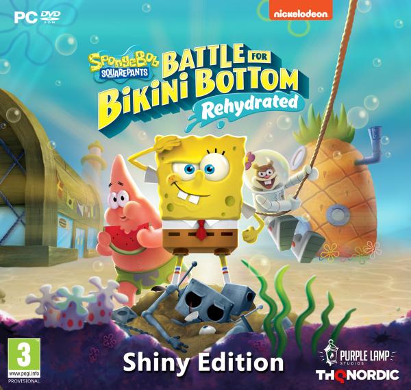Spongebob SquarePants: Battle for Bikini Bottom - Rehydrated - Shiny Edition (PC)