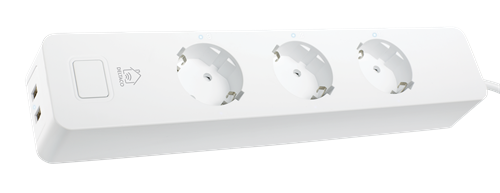 Deltaco WiFi Smart-grenuttag 5x zoner (3 Shucko + 2x USB) 13A
