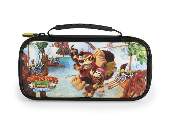 Nintendo Switch Deluxe Travel Case DKC Tropical Freeze