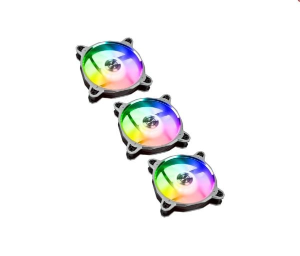 Lian Li Bora / A-RGB / PWM / 120mm / 3-Pack - Grå
