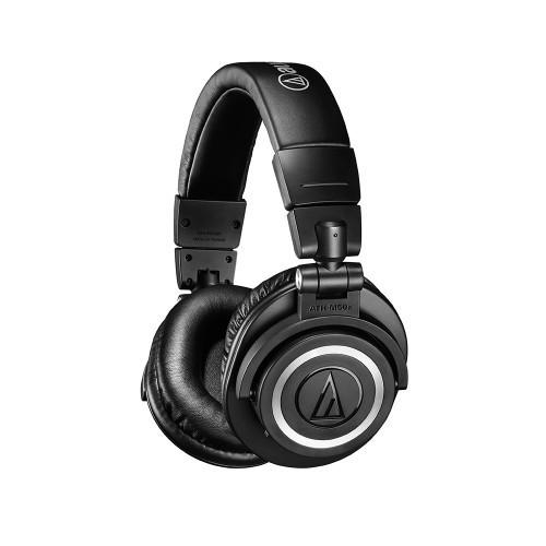 Audio Technica ATH-M50XBT Trådlösa hörlurar – Svart (Fyndvara – Klass 1)