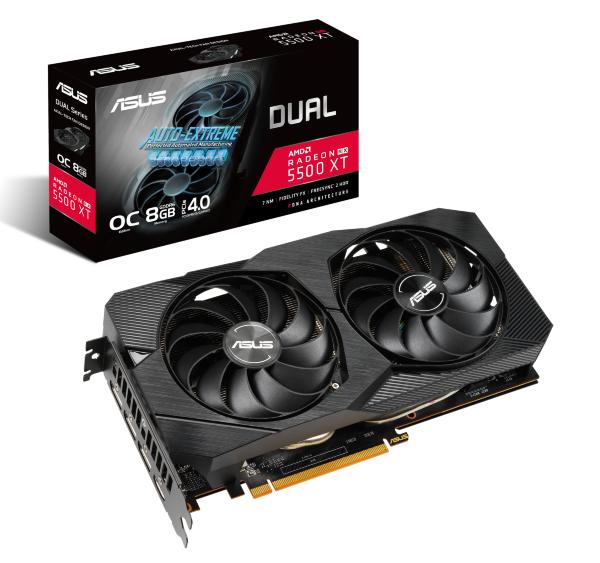 ASUS RX 5500 XT 8GB Dual EVO OC