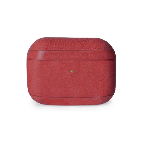 Krusell Sunne AirPods Pro Leather Case - Red