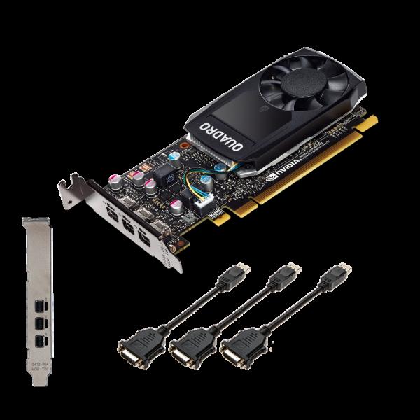 PNY Quadro P400 / DVI ( 2048MB / PCI-E 3 / DVI / LP