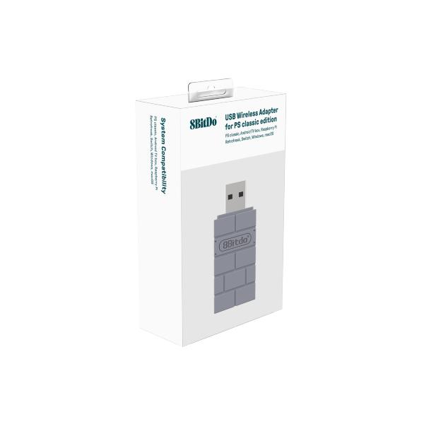 8bitdo USB Adapter PS Classic Edition (Fyndvara - Klass 1)