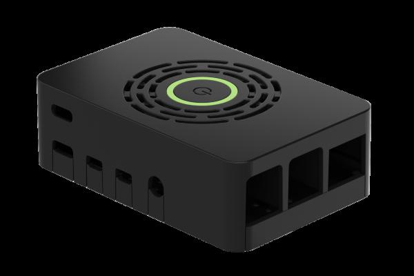 Okdo Raspberry Pi 4 Power-HAT Case - Black