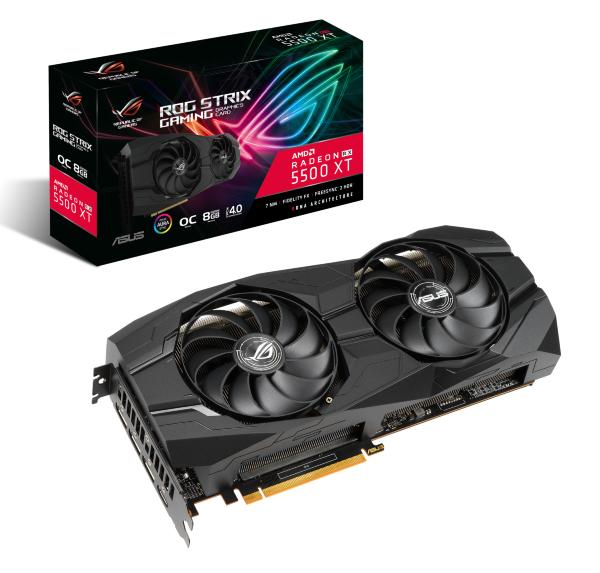 ASUS ROG Strix AMD Radeon RX 5500 XT O8G GAMING