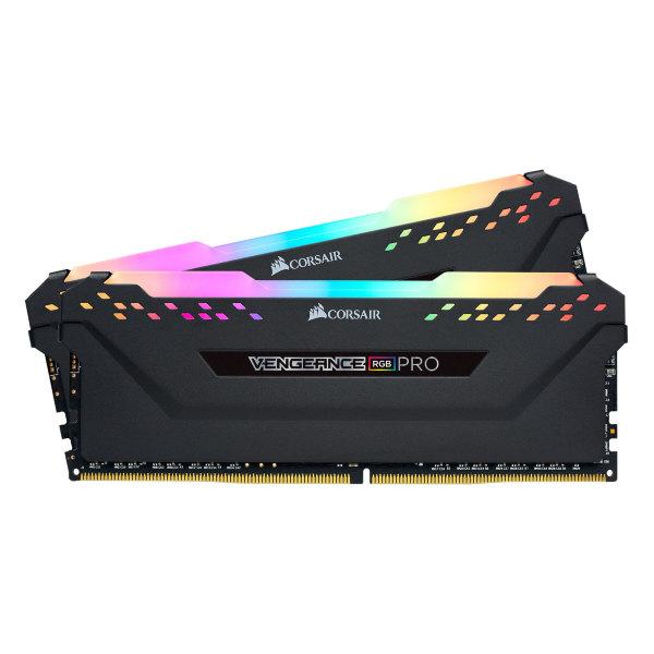 Corsair Vengeance RGB PRO 32GB (2x16GB) / 3600MHz / DDR4 / CL18 / CMW32GX4M2D3600C18