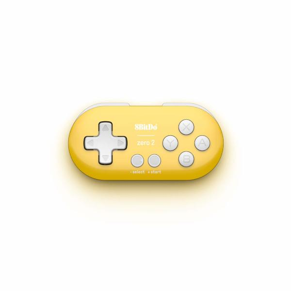 8bitdo Zero 2 Yellow Edition