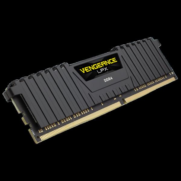 Corsair Vengeance LPX Black 64GB (2x32GB) / 3200MHz / DDR4 / CL16 / CMK64GX4M2E3200C16
