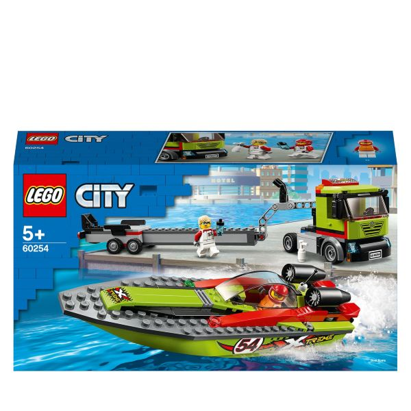 LEGO City Great Vehicles Racerbåtstransport 60254