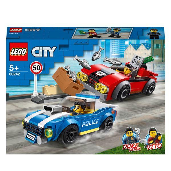 LEGO City Police Motorvägsarrestering 60242