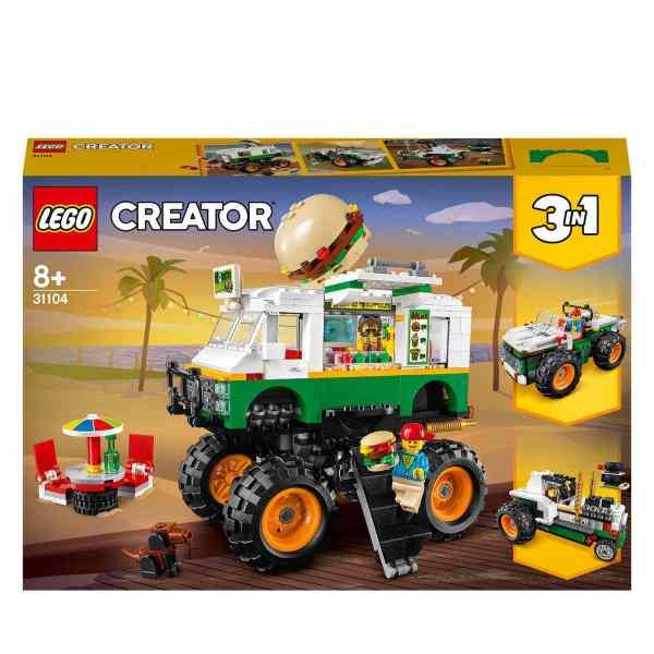 LEGO Creator Hamburgermonstertruck 31104