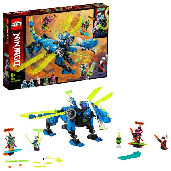 LEGO Ninjago Jays cyberdrake 71711