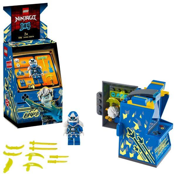 LEGO Ninjago Avatar-Jay – Arkadkapsel 71715