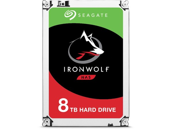Seagate Ironwolf 8TB / 256MB / 7200 RPM / ST8000VN004