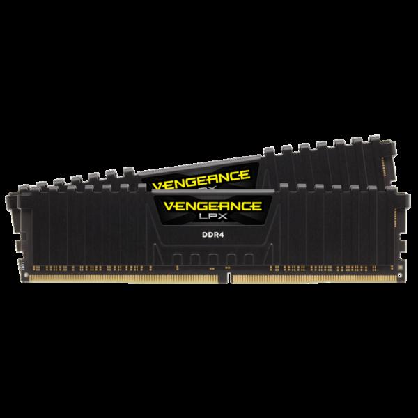 Corsair Vengeance LPX Black 16GB (2x8GB) / 3000MHz / DDR4 / CL16 / CMK16GX4M2D3000C16
