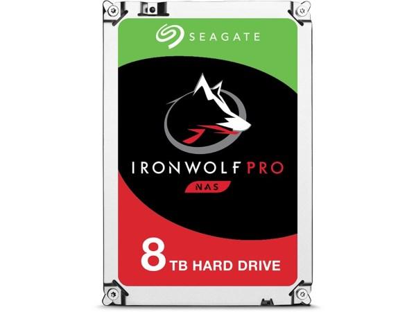 Seagate IronWolf Pro 8TB / 256MB / 7200RPM / ST8000NE001