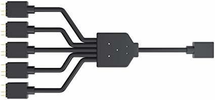 Cooler Master Trident Addressable (1-to-5) RGB Splitter