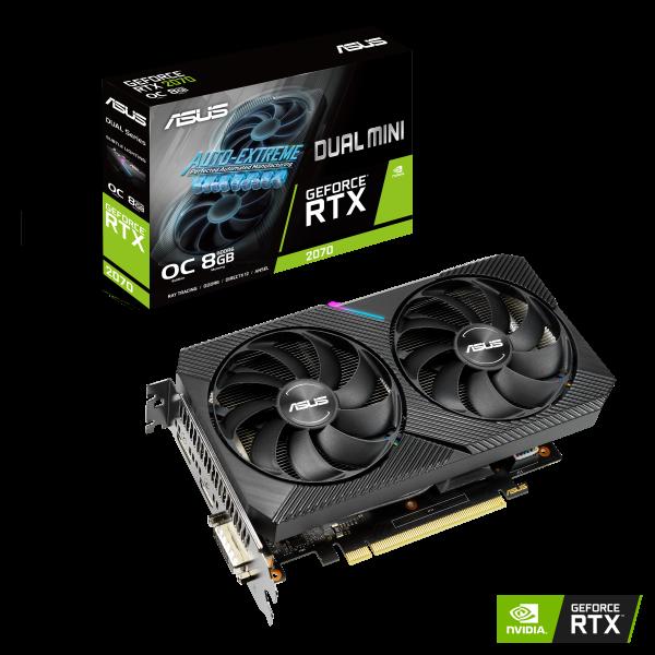 ASUS GeForce RTX 2070 8GB Dual MINI OC