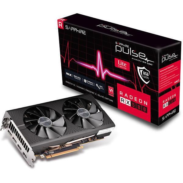 SAPPHIRE PULSE Radeon RX 580 8G Dual OC