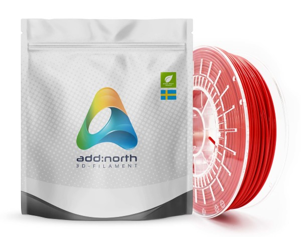 Addnorth E-PLA - 1.75mm - 750g - Red