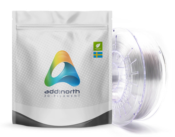 Addnorth PETG - 1.75mm - 750g - Clear