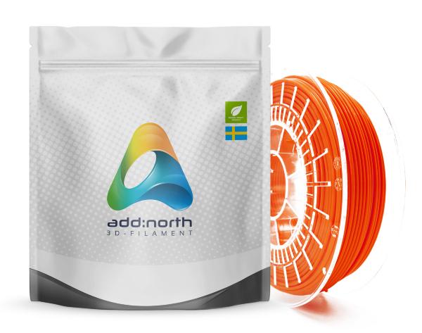 Addnorth PETG - 1.75mm - 750g - Lucent Orange