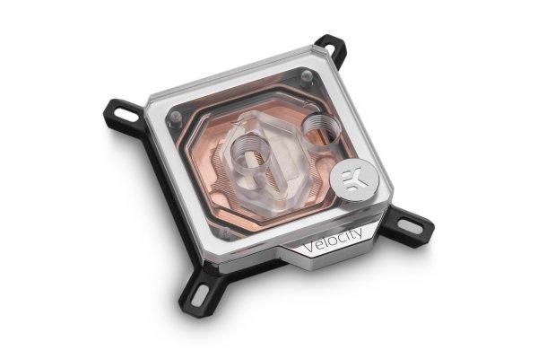 EK-Velocity Intel  - Copper + Plexi