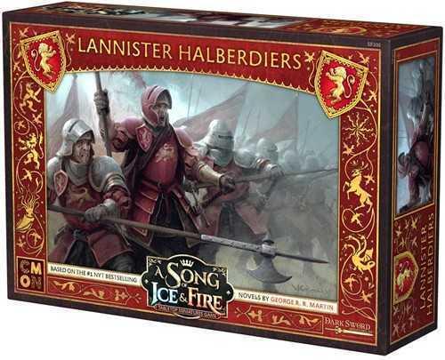 A Song of Ice & Fire: Tabletop Miniatures Game – Lannister Halberdiers (Fyndvara - Klass 1)