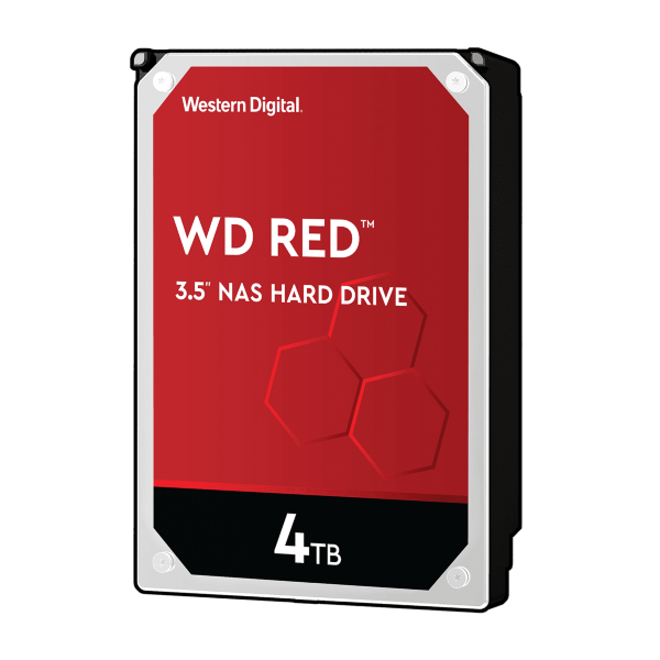 WD Red 4TB / 256MB Cache / 5400 RPM (WD40EFAX)