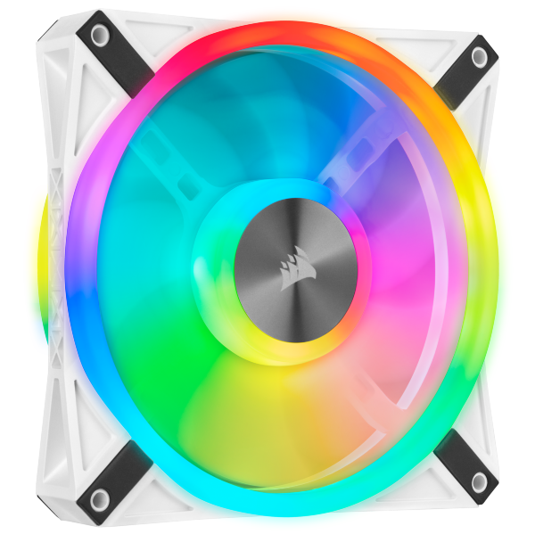 Corsair QL140 / iCUE-RGB / PWM / 140mm / Vit / 1-pack - Add-on