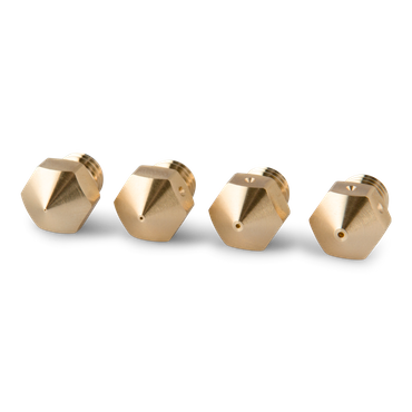 MK10 Mixed Size Brass Nozzle - 4 pcs