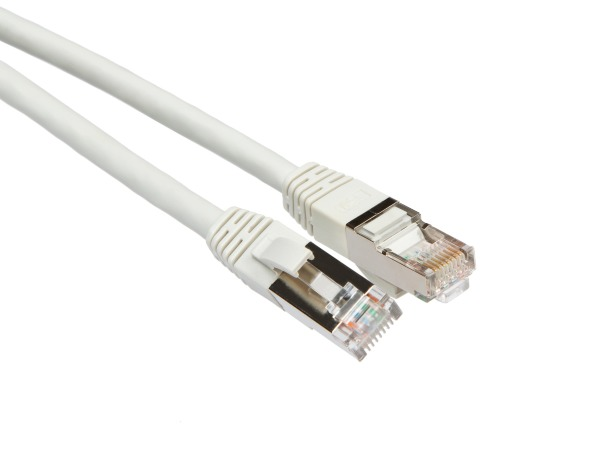 iiglo FTP Cat6a Nätverkskabel / 20m – Grå