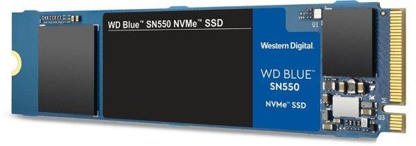 WD Blue SN550 NVMe SSD 1TB M.2 (WDS100T2B0C) (Fyndvara - Klass 1)