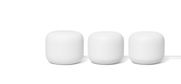 Google Nest Wifi Router+2-pack Point - Vit