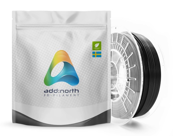 Addnorth Flex Bio TPU 95A - 1.75mm - 500g - Black