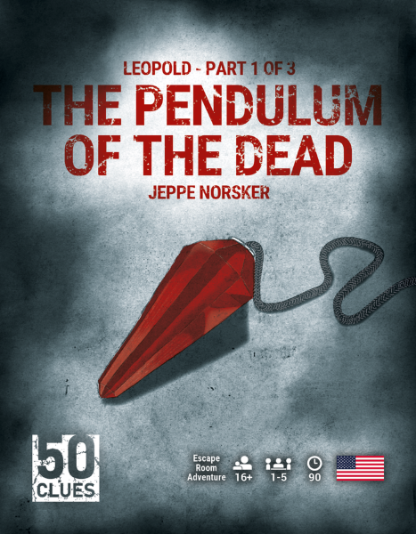 50 Clues - 1 - The Pendulum of the Dead (Engelsk)