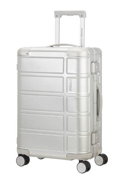 American Tourister ALUMO SPINNER 67/24 SILVER Resväska med 4 hjul 67cm Silver