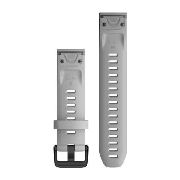 Garmin QuickFit 20 Small Silicone Band – Power Grey