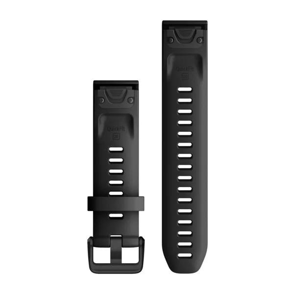 Garmin QuickFit 20 Small Silicone Band – Black