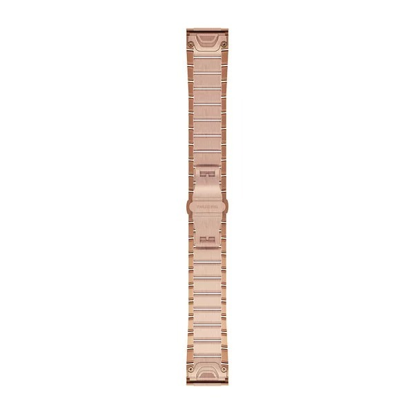Garmin QuickFit 20 Small Stainless Steel Band – Rose Goldtone