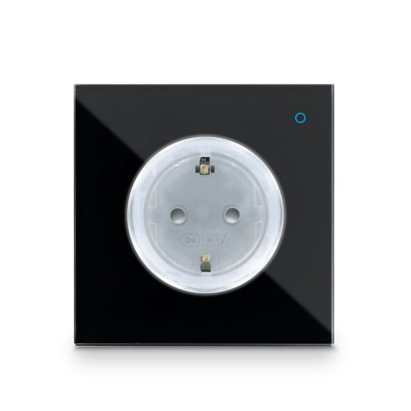 Iotty Smart Outlet - Svart