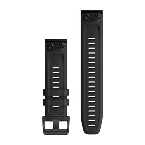 Garmin QuickFit 22 Silicone Band – Black