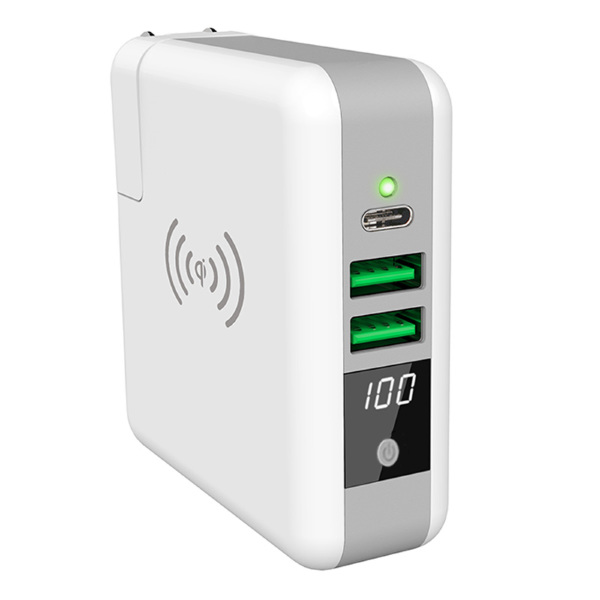 XQISIT Super Multi Charger with Powerbank