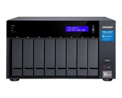 QNAP TVS-872XT-i5-16G / 8-Bay / i5-8400T / 16GB RAM