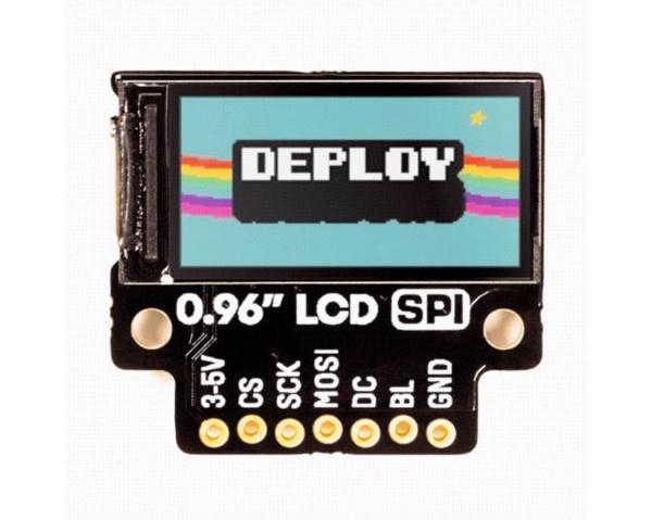 Pimorini - 0.96 SPI Color LCD (160x80) Breakout