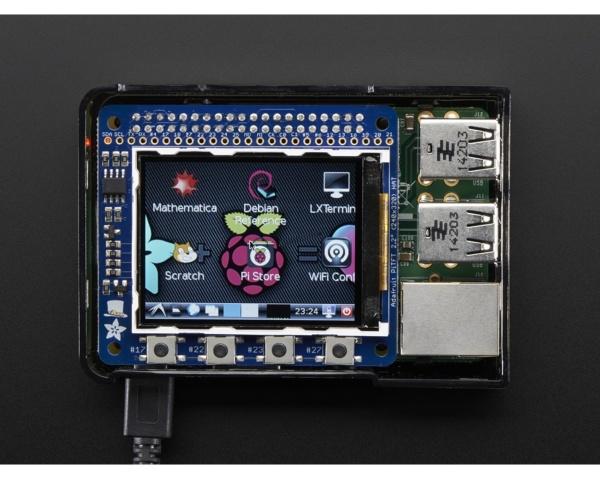 Adafruit 2.2 HAT Mini Kit - 320x240 TFT - No Touch