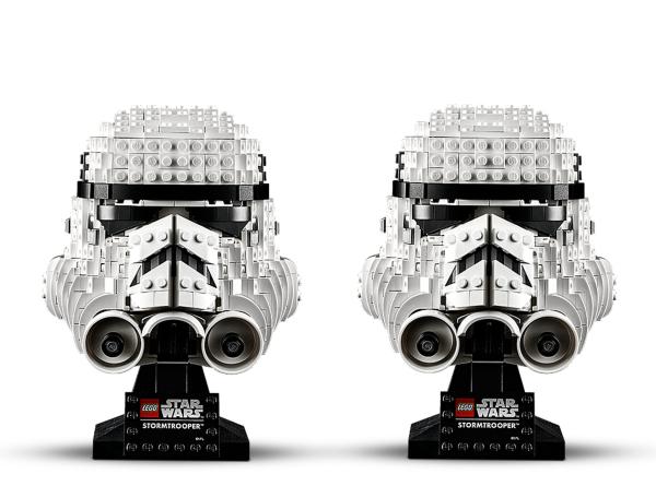 LEGO Star Wars Stoormtrooper Helmet 75276 (2 pack)