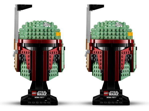 LEGO Star Wars Boba Fett Helmet 75277 (2 pack)